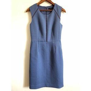 J. Crew Portfolio Dress in Lilac Blue Color